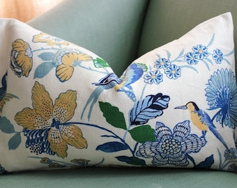 Lansdale Bouquet Pillow Cover 12 x 20 inch