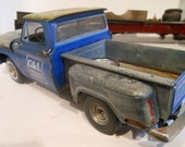 Classicwrecks, Scale Model Auto,Blue Chevy,Pickup Truck,Rusted Wreck