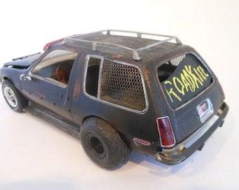 Rat Rod,Junker Car,AMC Pacer,Steampunk,Scale Model Car