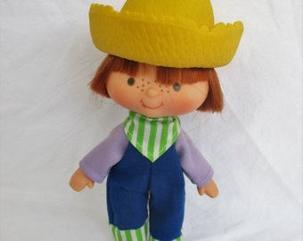 Spring SALE 20% OFF Vintage Huckleberry Pie from Strawberry Shortcake 1979 American Greetings, Original First Issue