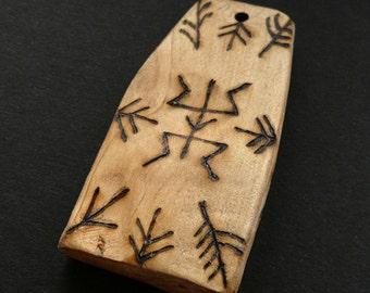 Blackthorn Pendant: 'Shield' (2)