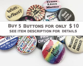 Button Sale Pick 5 Buttons for 10
