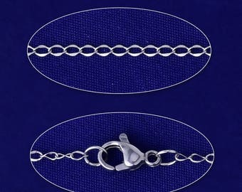 """20""""51mm Stainless steel Tail chain Bulk Chain Jewelry Making Chain lobster clasp Stainless Steel Jewellery 5pcs"""