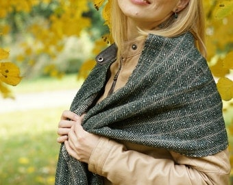Hand woven scarf for women scarf women wrap READY TO SHIP