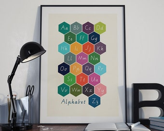 Alphabet poster ABC