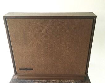 Vintage Ethan Allen Speaker, Ethan Allen Wireless Tube Speaker