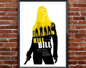 """Kill Bill Movie Poster 12X18"""""""