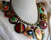 Antique Bakelite button N...