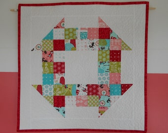 Quilted Mini Lil Red Wall Hanging