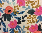 Les Fleurs CANVAS by Rifle Paper Co for Cotton and Steel