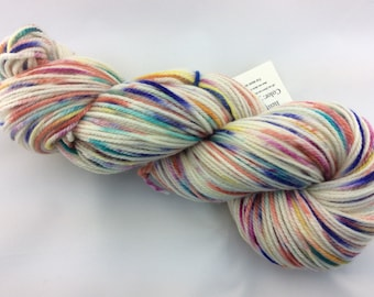 "Ty Dy 2.0 -  Hearthside Fibers ""Extravagance"" - Polwarth/silk DK - Hand Dyed"