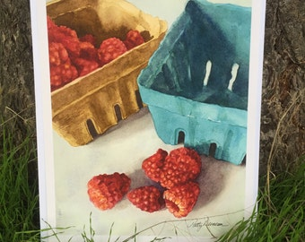 Outside the Box by watercolorist Patty Duncan
