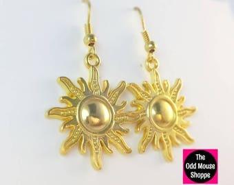 Tangled Sun Earrings