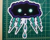 Thundercloud Vinyl Sticker