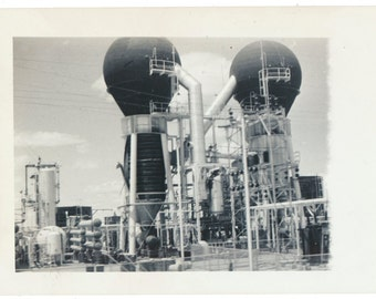 Industrial Abstract Landscape mid century modern minimalism photographs vernacular photos snapshot found old photograph found