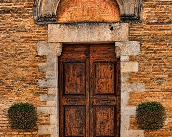 Tuscan Church Doorway