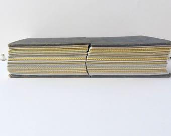 Hardcover Journal Set, Handmade Upcycled Vintage Journal, Hand bound Journal, Notebook Set - American Problems