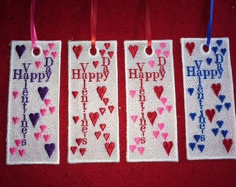 Lace Valentine Bookmarkers (1 Bookmark)