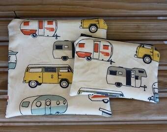 Reusable ZIPPER Sandwich Bag and Snack Bag Combo, RV - ZIPPER Sandwich Bag