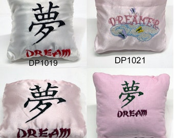Crystal Dream Pillow   Dream Collection - Misc Embroiered Designs  **Clearance**