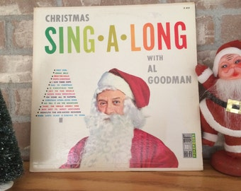 Christmas Sing Along with Al Goodman Vintage Christmas Album Traditional Holiday Music  Vintage Album of Christmas Carols with Lyrics