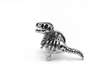 T-Rex Lapel Pin, Dinosaur Lapel Pin, T-Rex Tie Tack, Dinosaur Tie Pin, T-Rex Tie Pin, Gifts for hHer, Gifts for Him