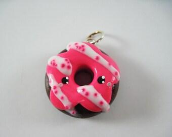 Kawaii Donut Doughnut Baker Necklace Bracelet Charm Polymer Clay Jewelry Lolita Asian Fashion Accessory Cute