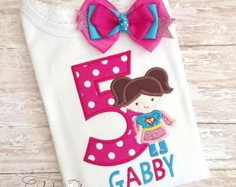 supergirl shirt, super girl shirt, super girl birthday, super hero birthday, super girl, wonder girl, super boy shirt, superhero 024