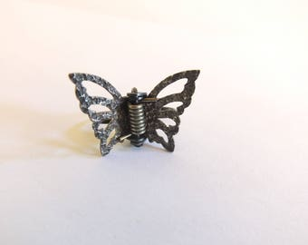Sterling Butterfly Clip