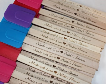 60 Spatulas, Personalized Spatulas, Shower, Party, Favor, Bridal Shower, Baby Shower, Birthday Party, Kitchen, Spatula, Party Favor