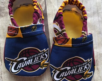 Cleveland Cavaliers Cloth Baby Booties