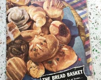 Vintage 1941 The Bread Basket Cookbook Fleischmann's Yeast
