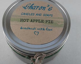 Hot Apple Pie Candle in a Tin