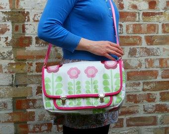Satchel Bag Pattern PDF Sewing Pattern Messenger Bag Crossbody Bag Changing Bag School Bag Handbag