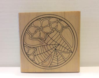 Modern Art Rubber Stamp