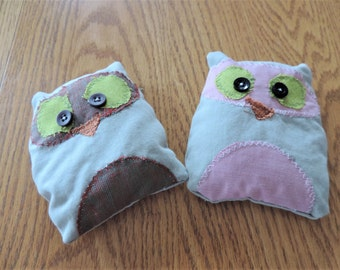 owl rice bag for kid's injuries
