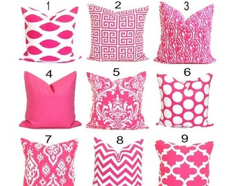 Pink Pillows.Pink Pillow Cover.Pink Cushion Covers. Pink Damask.Pink Toss Pillow. Pink Throw Pillow.Pink Decorative Pillow. Pink Cushion.cm