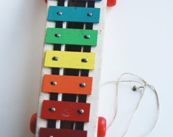 Vintage Fisher Price Pull a Tune