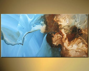 Canvas Print - Stretched, Embellished & Ready-to-Hang  - The Cave of Zeos - Art by Osnat