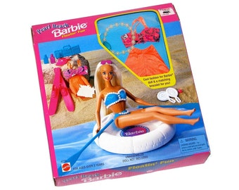 Vintage 1997 Pearl Beach BARBIE Floatin' Fun Play Set by Mattel- New & Sealed
