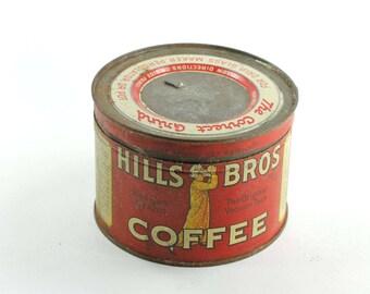 Rusty Hills Bros Coffee Can