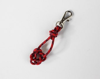 Heart Rope Knot  Key Chain