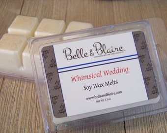 Whimsical Wedding- Soy Tarts- Scented Wax Melts