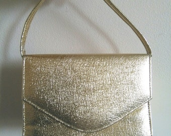 Vintage sparkling gold small purse