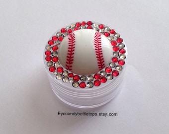 Baseball Mini Plastic Container