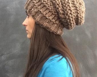 Slouchy Hat - Barley