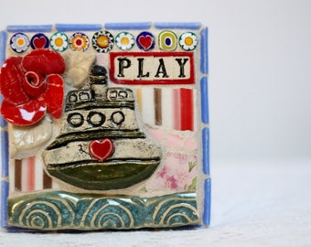 PLAY, Ferry Boat, mosaic art