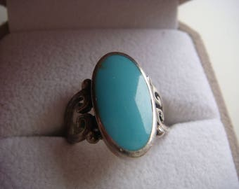 Beautiful Turquoise and Silver Ring