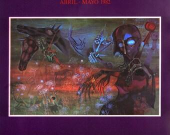 Joan Ponc-Galeria Biosca-1982 Poster