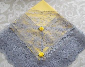 CinJas Large Cotton Church Lap Scarves. Ladies Lap Scarves, Lace Lap Scarves, Church Lap Scarf, Church Lap Cloth, Lap Handkerchiefs